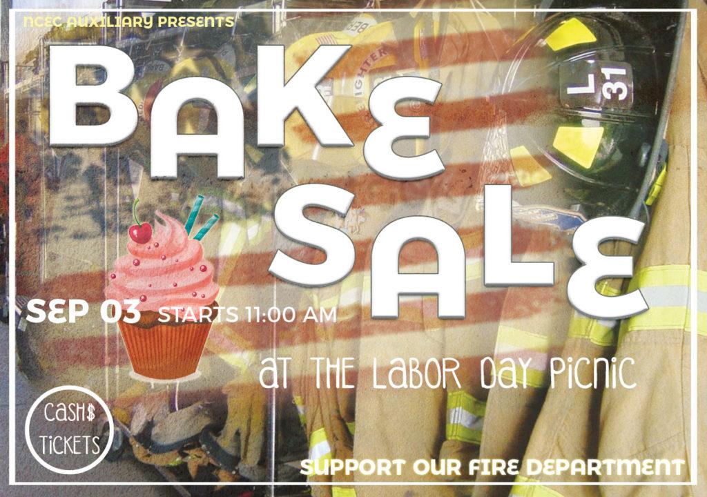 Labor Day Bake Sale