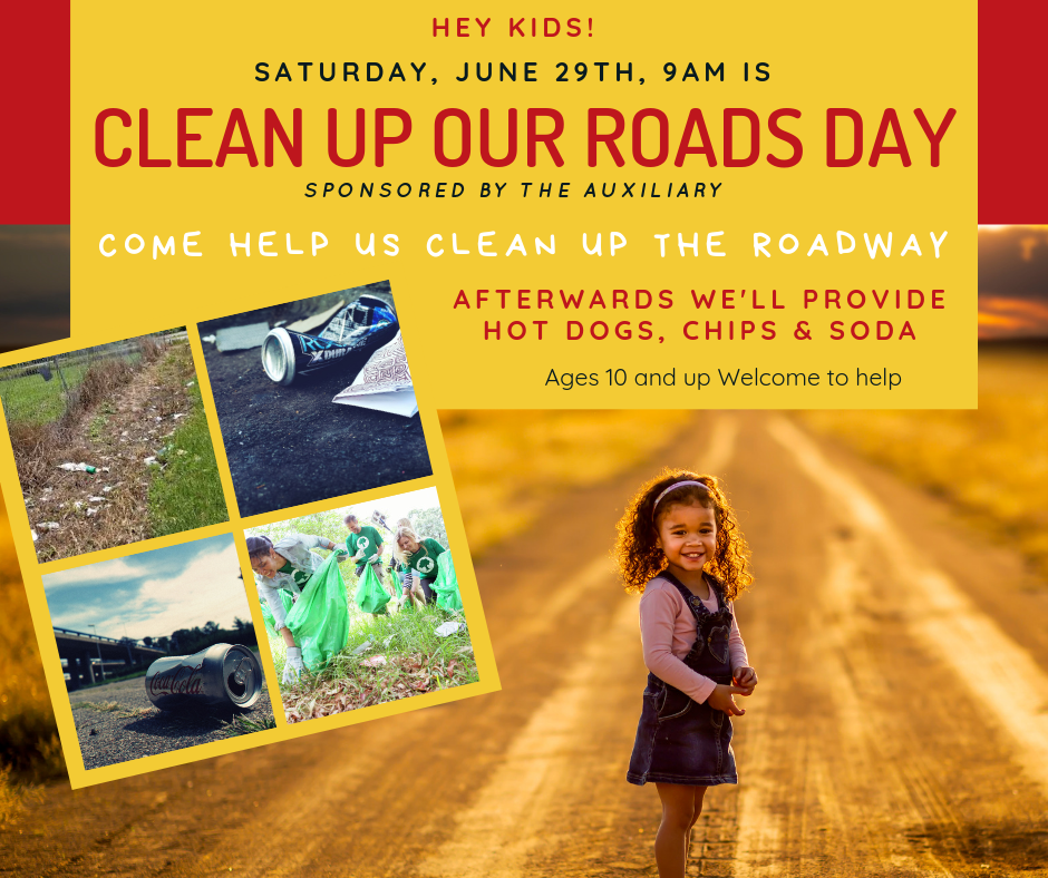 Clean Up Our Roads Day